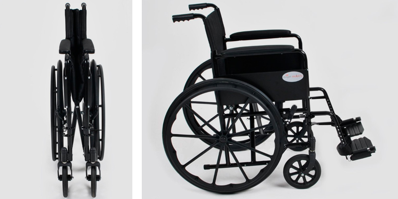 Review of Angel Mobility AMW0046BF Lightweight Folding Wheelchair