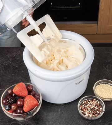 Review of Savisto Ice Cream Maker, 1.5 Litre