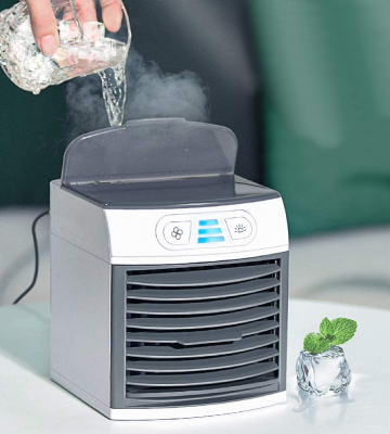 Review of Homitt Portable Mini Air Cooler 4-in-1 Mini Air Conditioner