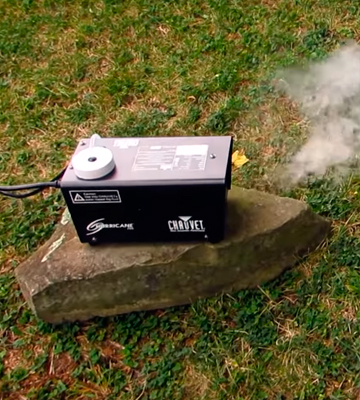 Review of Chauvet Lighting Hurricane 700 Fog Machine