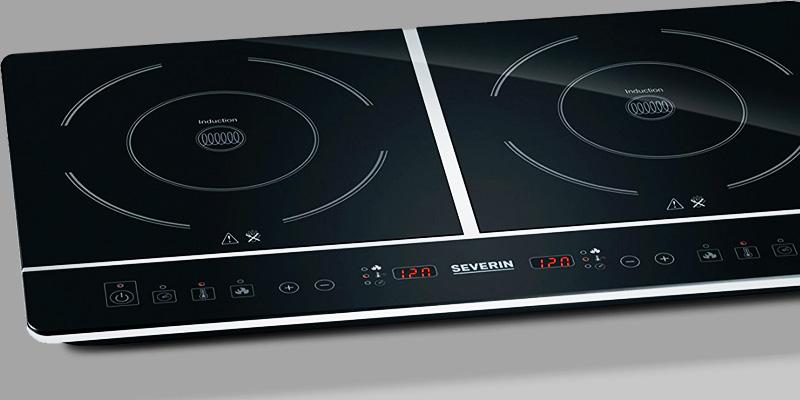 Severin DK 1031 Table Top Double Induction Hob in the use
