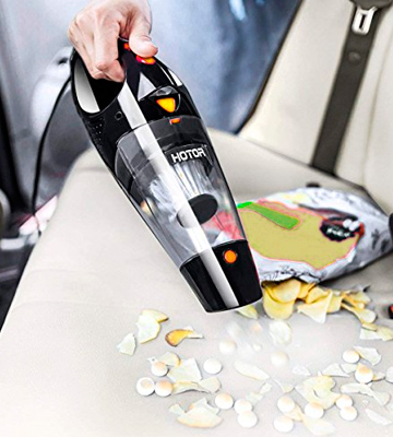 Review of HOTOR UK000109BL Corded Car Vacuum Cleaner