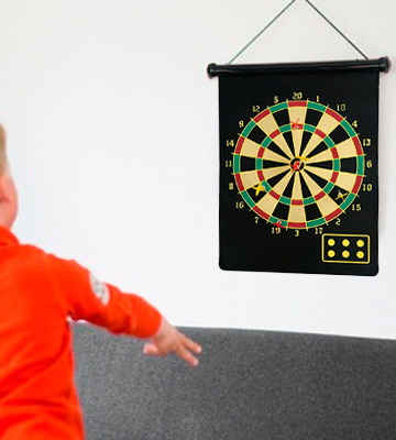 Review of Fusion Magnetic dartboard Roll Up