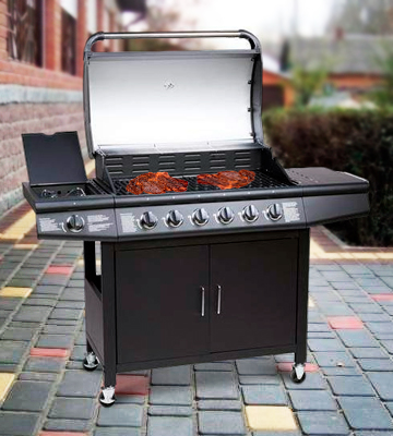 Review of CosmoGrill Deluxe 6+1 Gas Burner Grill
