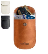 Humble Bumble Pure Leather Pouch Key Signal Blocker