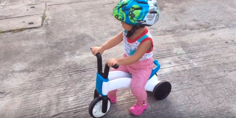 Chillafish BUNZI Balance Bike and Tricycle in the use