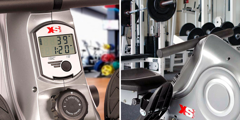 XS Sports R310 Folding Rowing Machine in the use