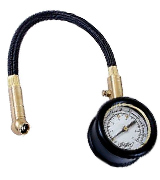 Draper 69924 Tyre Pressure Gauge with Flexible Hose