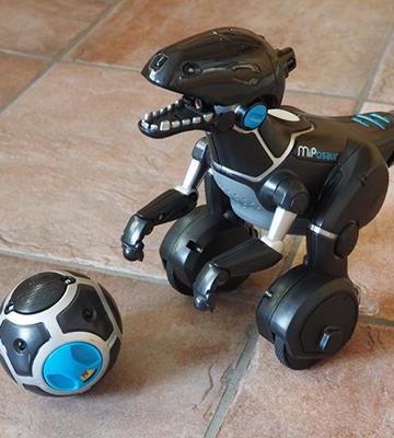 Review of WowWee MiPosaur and Track Ball