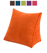 Halovie Triangle Pillow Back Wedge Cushion Back Support Throw Pillow