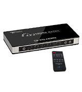 Goronya HDM.MTX.FBA001UK HDMI Splitter/Switcher