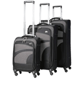 Aerolite AERO9925 Suitcase 3 Piece Set