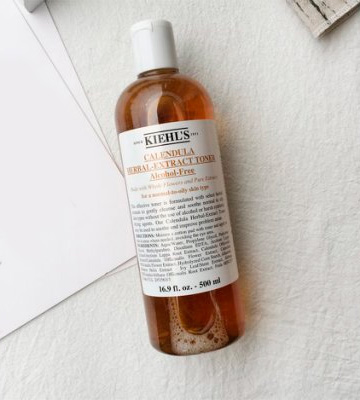 Review of Kiehl's 500ml/16.9oz Calendula Herbal Extract Alcohol-Free Toner (Normal to Oil Skin)