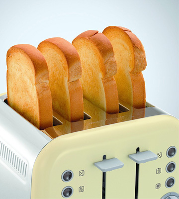 Review of Morphy Richards 242035 Accents 4 Slice Toaster