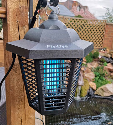 Review of Fly-Bye Outdoor Bug Zapper