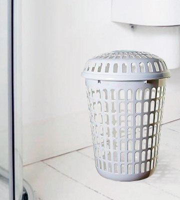 Review of Whitefurze Limited PLASTIC LAUNDRY BASKET Dimension (Approx): Capacity : 56 Liter Basket ( H 56 X W 46 X D 36 cm)