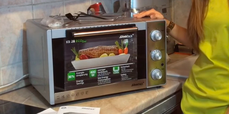 Review of Steba KB 28 Grill and Bake Oven, 1500 W, Stainless Steel