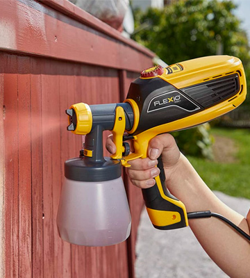 Review of Wagner W 590 FLEXiO Universal Electric Paint Sprayer
