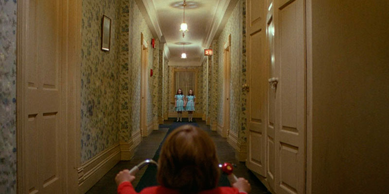 "Stephen King ""The Shining"" in the use"