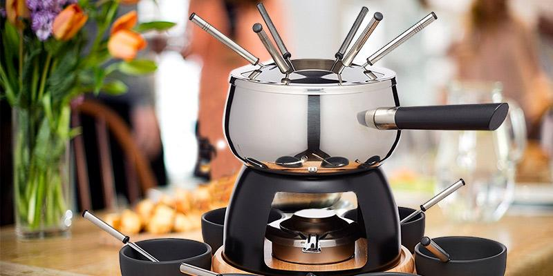 Review of KitchenCraft Master Class Artesa Stainless Steel Fondue Set
