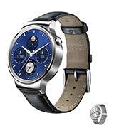 Huawei W1 Stainless Steel Classic with Leather Strap