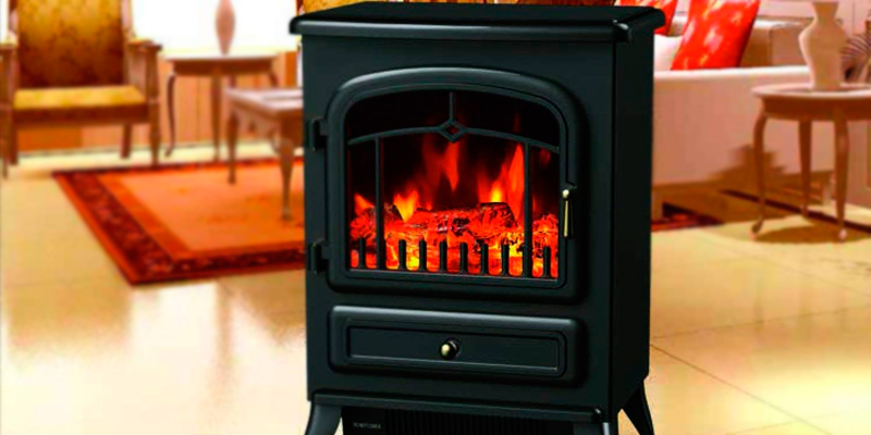 Detailed review of HomCom 820 Freestanding Electric Fire Place Stove