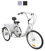 Ridgeyard HW-ZXC-2-W Adult Trike Tricycle
