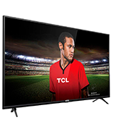 TCL 43DP628 43 Inch UHD 4K TV, HDR10 and HLG, Modern Design with Freeview Play