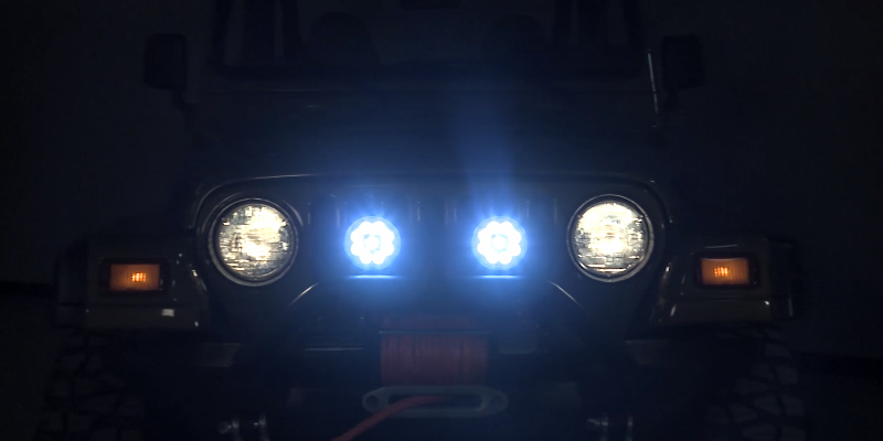 Review of Mictuning MIC-LP-099R 18W Flush Mount Round LED Light Bar