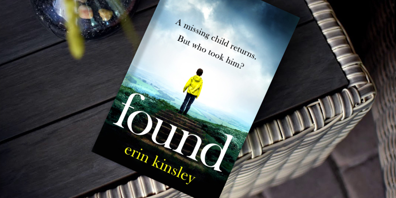 Erin Kinsley Found: the most gripping, emotional thriller of the year in the use