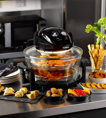 Review of Tower T14001 Halogen Airwave Low Fat Air Fryer