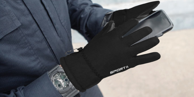 Review of TOLEMI -20℉ Coldproof 3M Thermal Insulated Touchscreen Winter Gloves for Men