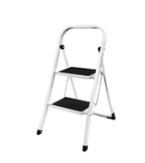 Home Discount Discount 2 Step Ladder Heavy Duty Steel, Portable Folding