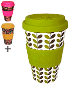 Happy Earth LEAVES Reusable Eco-Friendly Coffee Cup