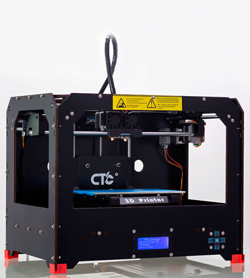 Review of Win-Tinten 3DP-QD 3D Printer Assembled Optimized MK8 Dual Extruder