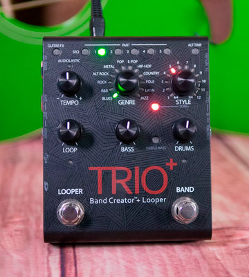 Review of DigiTech TRIO Plus Guitar Pedal with Looper