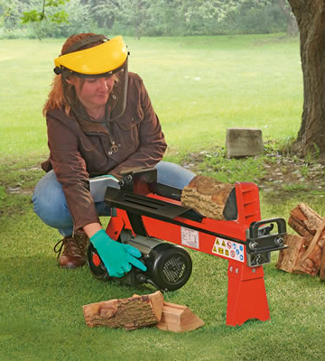 Review of Logmaster D8797 Hydraulic Log Splitter