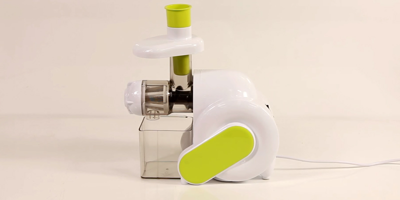 ElectrIQ HSL600 Slow Masticating Juicer Extractor in the use