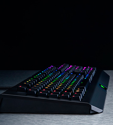 Review of Razer BlackWidow Chroma Gaming Keyboard Clicky Mechanical Switches