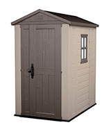 Keter Factor 4x6 Outdoor Garden Storage Shed