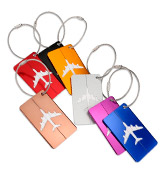 NUOLUX XX71446375XVJE5008 Travel Luggage Tag Labels 7 Colors