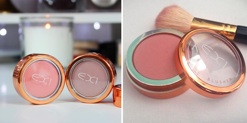 Review of EX1 NATURAL FLUSH Cosmetics Blusher