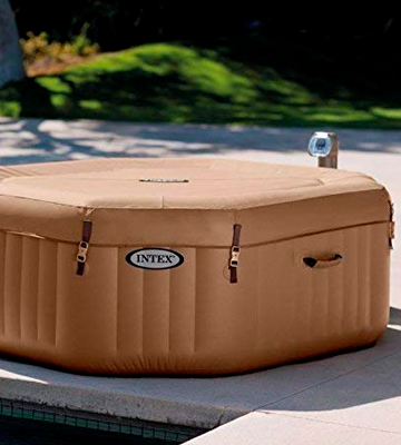 Review of Intex Octagonal Pure Spa 4 Person Bubble Therapy Hot Tub