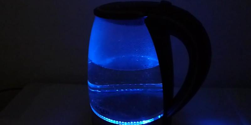 Review of Bertelin Cordless Electric Glass Kettle,
