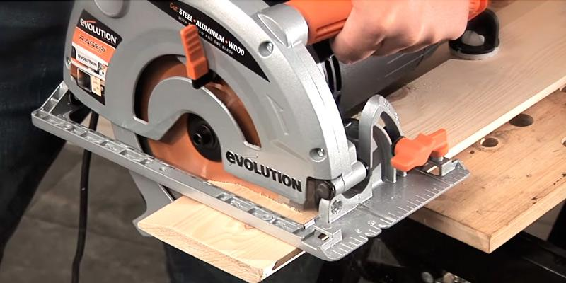 Review of Evolution 041-0002A Rage-B Multi-Purpose Circular Saw
