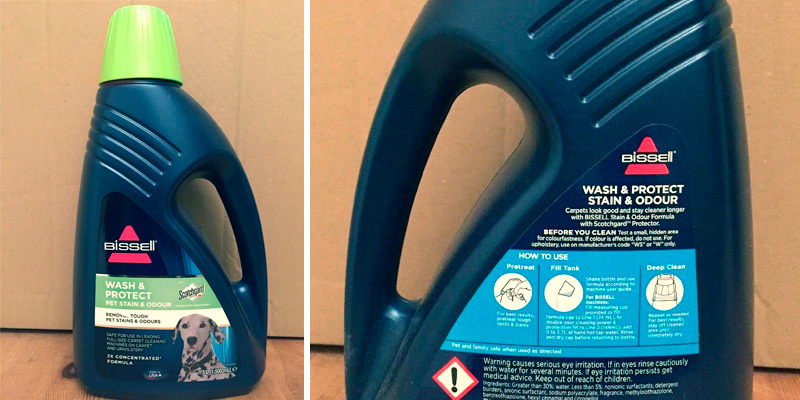 Review of Bissell Pet Carpet Shampoo