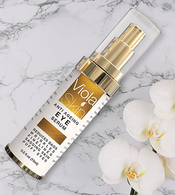 Review of ViolaSkin Anti Ageing Eye Serum Eye Cream