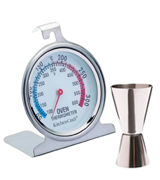 KitchenCraft KCBCJIG Stainless Steel Oven Thermometer