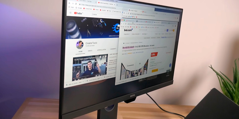 BenQ BL2480T 24-inch IPS Monitor (FullHd, 83Hz) in the use
