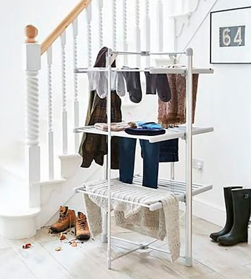 Review of Lakeland Heated Indoor Airer Dry:Soon 3 Tier